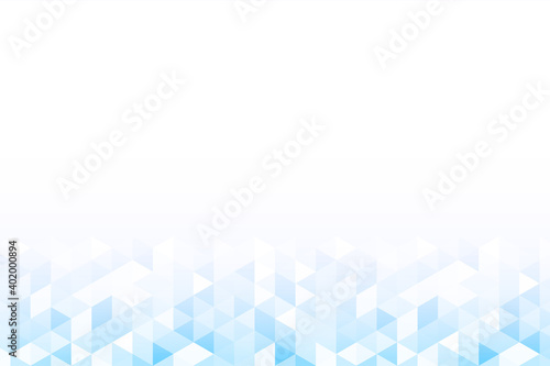 Abstract colorful background with gradient triangles gradation
