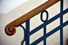 Treppengeländer, Geländer Aus Eisen