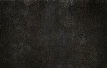 Black Wall Grunge Background