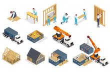 Modular Construction Icon Set