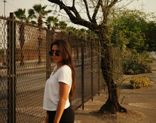 Latin Girl Behind Bars In Guayaquil