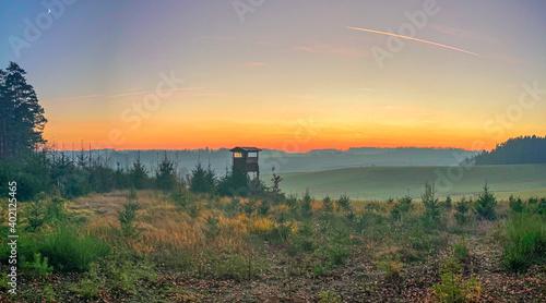 Foto Pfaffenhofen Ilm Bavarian Autumn forest landscape