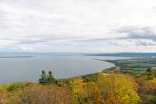 北海道 サロマ湖 展望台からの眺め