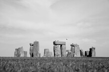 Stonehenge, A Famous Prehistoric Monument In England. It Was Constructed From 3000 BC To 2000 BC.