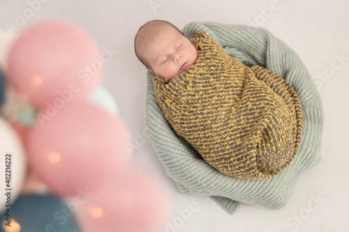 Fototapeta noworodek  obraz