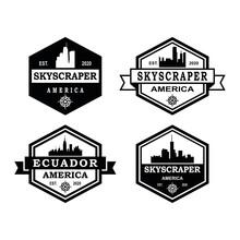 A Set Of Blackstone Logo , A Set Of Architecture Logo