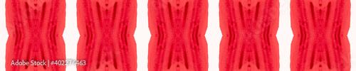 Fototapeta Abstract White Red Seamless Decor. Multipurpose
