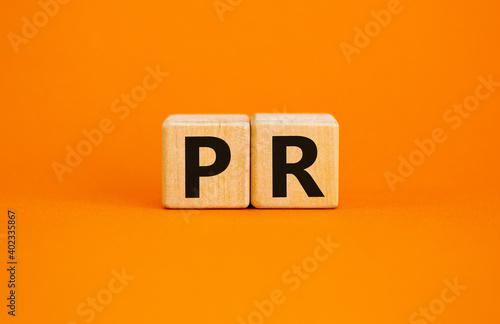 Papel de parede PR - public relations symbol