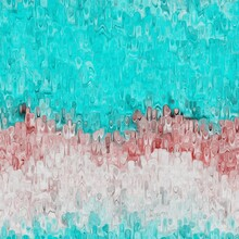 Marbled Grunge Blotch Drip Pattern Background. Worn Turquoise Blue Red Grunge Abstract Repeat. Book End Paper Seamless Tile Material. Decorative Italian Digital Marbled Distressed Blur All Over Print.