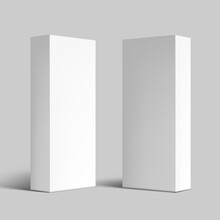 Various Angle 3D Blank Package Box Set