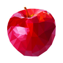 The Apple Is Painted In The Style Of A Hunting Ground.