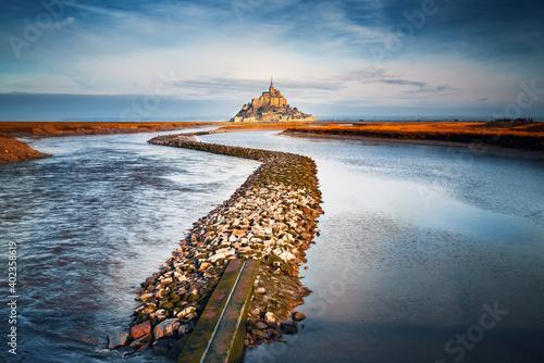 Fototapeta Mont Saint Michel, Normandy, Paris France
