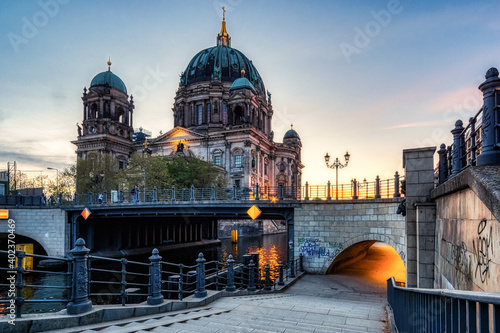 Canvas Print Berliner Dom