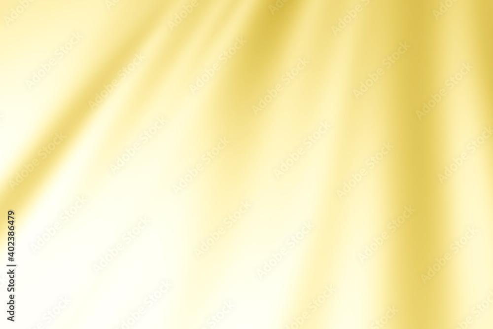 Fototapeta ゴールドの布、波