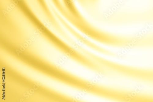 Fényképezés ゴールドの布、波