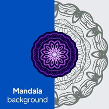 Decorative Mandala. Vector Illustration. Tribal Ethnic Ornament With Mandala. Anti-Stress Therapy Pattern. Indian, Moroccan, Mystic, Ottoman Motifs.