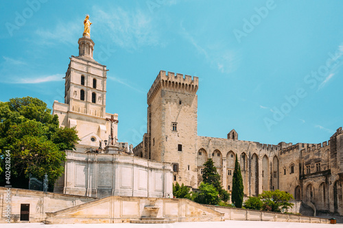 Canvas Saint-Benezet, Avignon, Provence, France