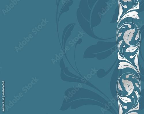 Papel de parede wedding template design, paisley floral pattern , India