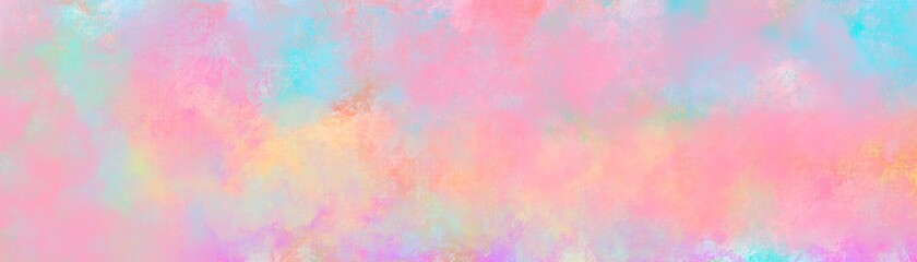 Watercolor paint like gradient background pastel ombre style. Iridescent template for brochure, banner, wallpaper, mobile screen. Neon hologram theme