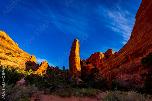 Fin Canyon in Arches National Park Fototapeta
