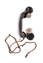 Vintage Bakelite Telephone Horn