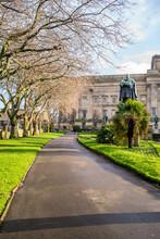 St Johns Gardens, Liverpool. December 2020