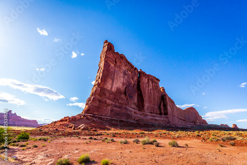 Canvastavla Tower of Babel in Arches National Park
