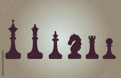 chess Fototapet