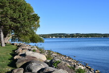 View Of Canandaigua Lake In Canandaigua, New York