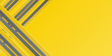 Modern Yellow Grey 2021 Gradient Geometric Shape Background With Dynamic Lines Abstract. Trendy Yellow Grey Color Of 2021 Background. Suit For Business, Corporate, Institution, Party, Festive, Seminar