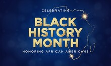Black History Month Background Design. Vector Illustration.