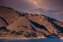 Hiking And Bird Watching By Lake Cachuma California