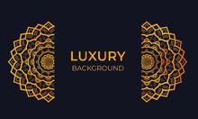 Luxury Mandala Background. Vector  Luxury Mandala
