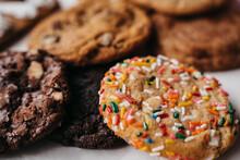 Closeup Of Cookie Platter