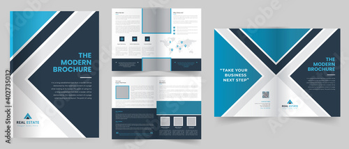 Fototapeta Corporate Business Brochure template design, Company Profile, Anual Report,  obraz