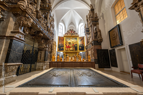 Foto Innenaufnahmen der Stadtkriche Sankt Peter und Paul (Herderkriche) in Weimar