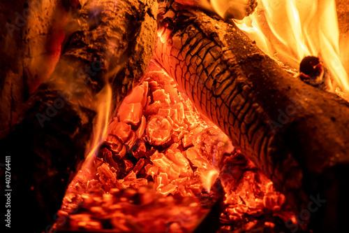 Photo Leña ardiendo