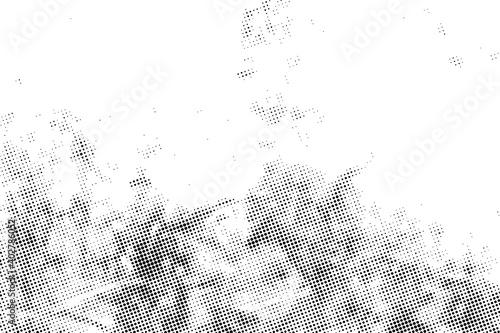 Obraz Vector abstract grunge halftone texture.Dots pattern effect overlay. - fototapety do salonu