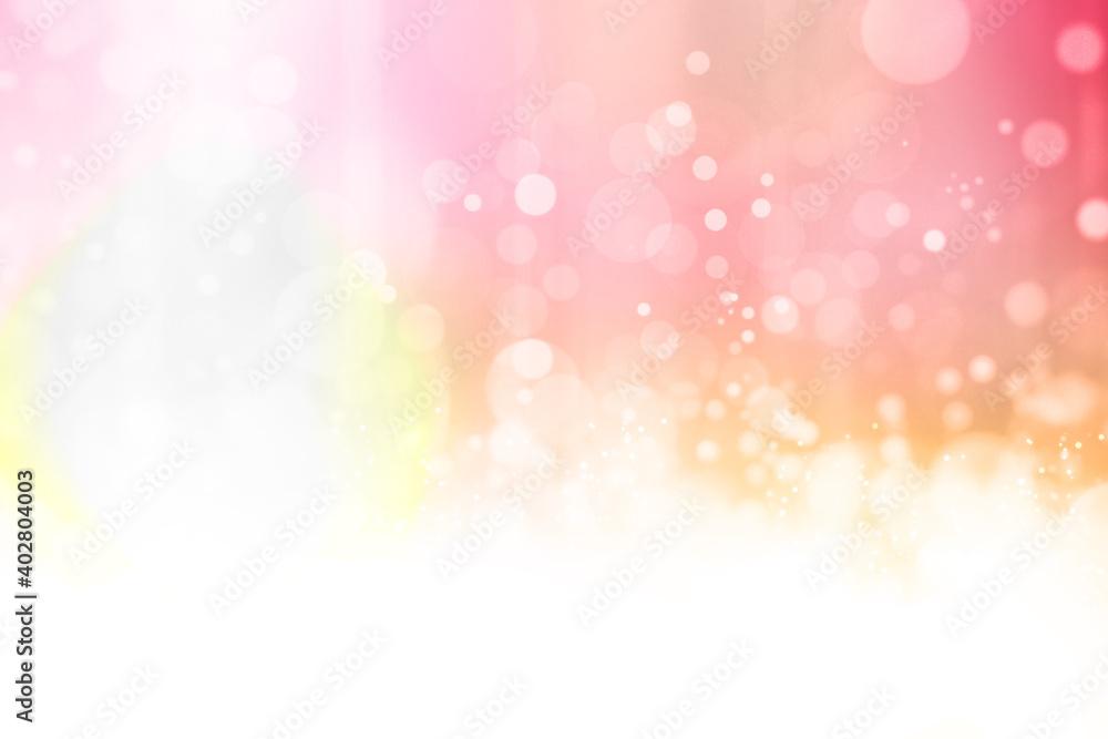 Fototapeta 春の穏やかなピンクの光02