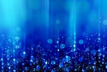 青く神秘的な光01
