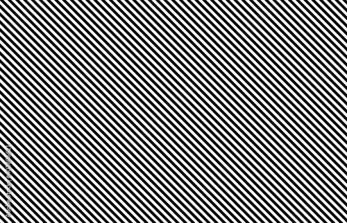 Fotografering Black and white diagonal stripes background