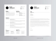 Clean And Modern Resume/CV Template Design