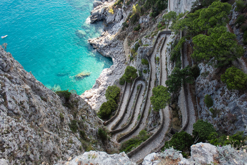 Foto the beautiful Capri island, via Krupp