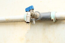 Water Tap With Water