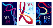 Fluorescence Vertical Posters Collection