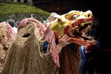 Dragon's Head, Procession Of 1000 Samurai, Toshogu Shrine, Nikko, Japan