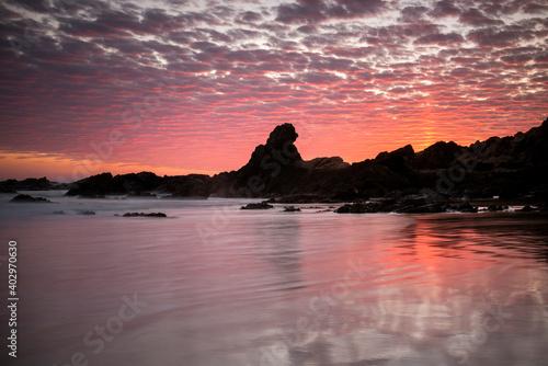 Byron Bay at sunset,  Byron Bay Australia Fotobehang