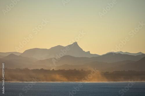 Foto Byron Bay at sunset,  Byron Bay Australia