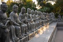 The Ten Thousand Buddhas Monastery .