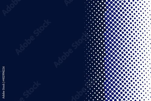 Obraz na plátne dark blue dotted texture background